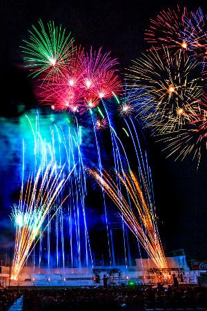 Jingu gaien Fireworks Festival