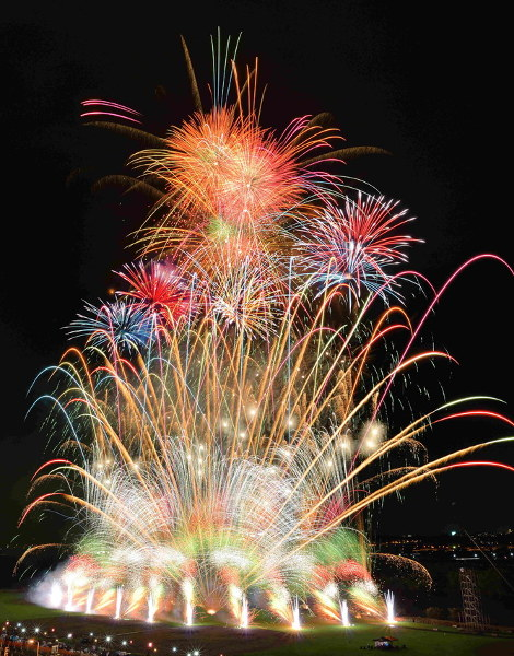 The 52th Katsushika Fireworks Festival