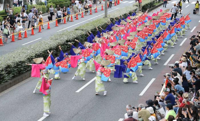 Harajuku Omotesando Genki-matsuri Festival - Super Yosakoi