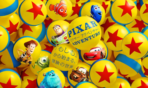 "Pixar Adventure [Beginning with ""If"", the world of adventure]"