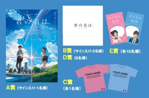 Your Name. (Kimi no Na wa.) x FUN! TOKYO! Mobile Stamp Rally