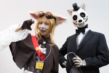 Kagurazaka Bakeneko (simulation cat) Festival