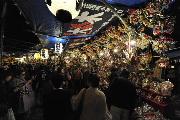 Hanazono Shrine Otori-sai (Tori no Ichi Festival)