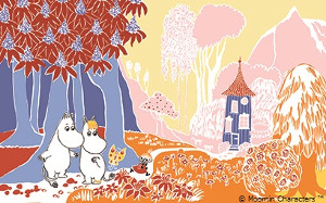 Moomin Picture Book Story based on Tove Jansson's Moomin Stories