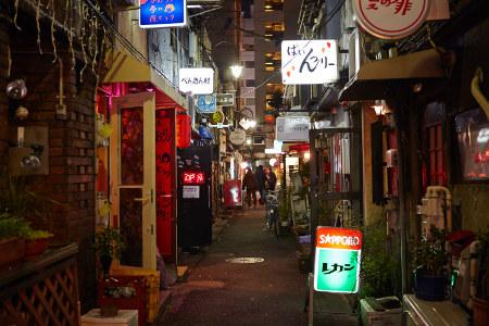 Shinjuku Golden Gai Summer Evening Thanksgiving