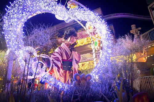 "Hanayashiki Illumination ""Lumiyashiki"""