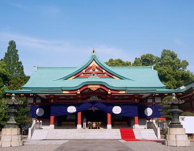 ≪Hatsumode Spot≫ Hie Jinja Shrine