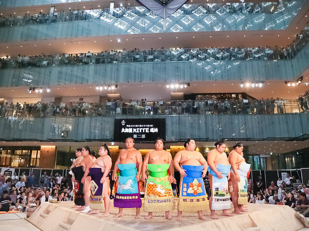 Hakkiyoi KITTE (KITTE Grand Sumo Tournament)