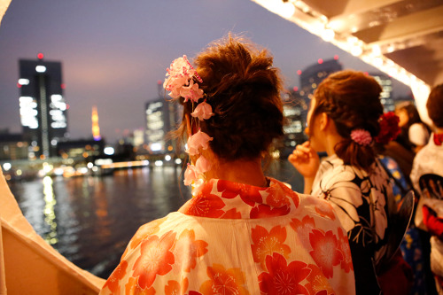Tokyo Bay Summer Evening Cruise