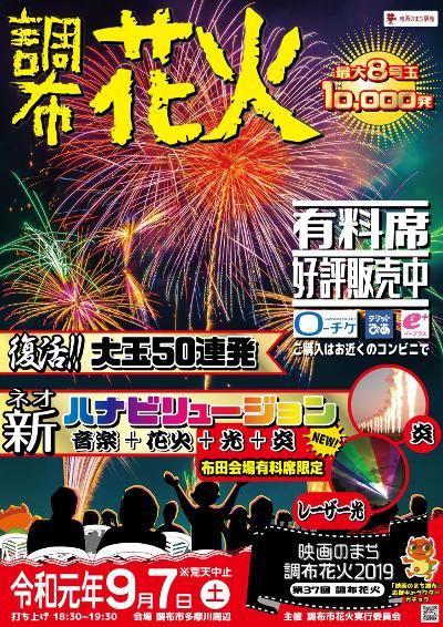Chofu Fireworks Festival