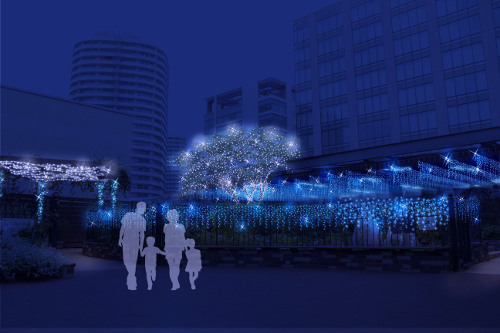 Brilliant Blue★Christmas (MARK IS minatomirai)
