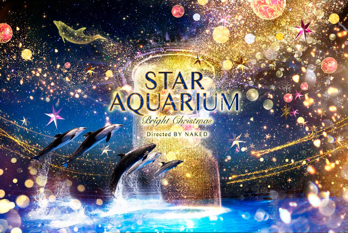 STAR AQUARIUM -Bright Christmas- (Aqua Park Shinagawa)