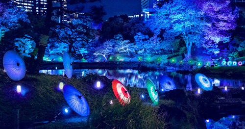 Summer Evening Party at Kyu-Shiba-rikyu Gardens