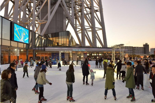 Tokyo Skytree Town Ice Skating Park
