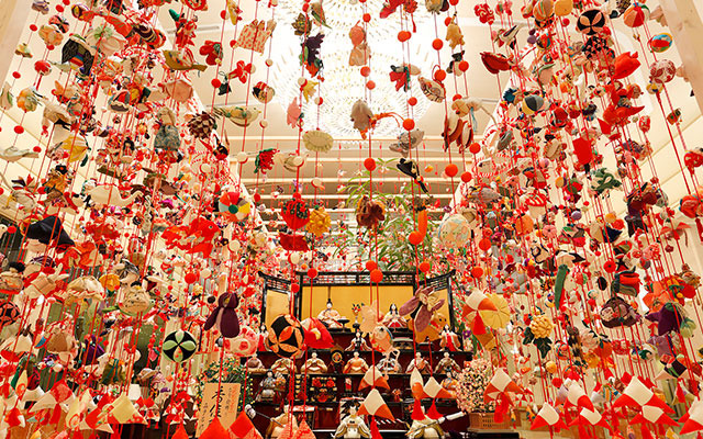 Hinamatsuri (Girl's doll festival) Exhibition