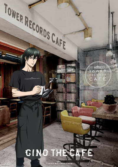 "'Psycho-Pass' Themed ""GINO THE CAFE in Tower Records Cafe Omotesando"""