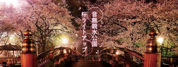Otonashi Shinsui Park Cherry Blossom Illuminations