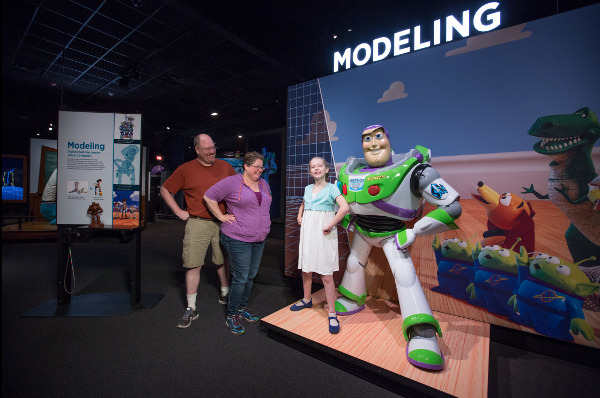 The Science Behind Pixar Exhibition