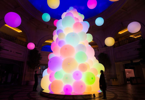 "VenusFort Illumination ""The Tree of Resonating Colors of Life"""