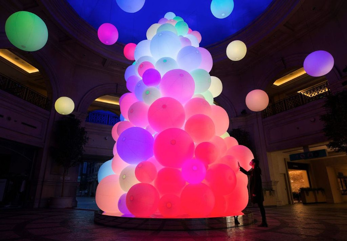 "VenusFort Illumination ""The Tree of Resonating Colors of Life"""