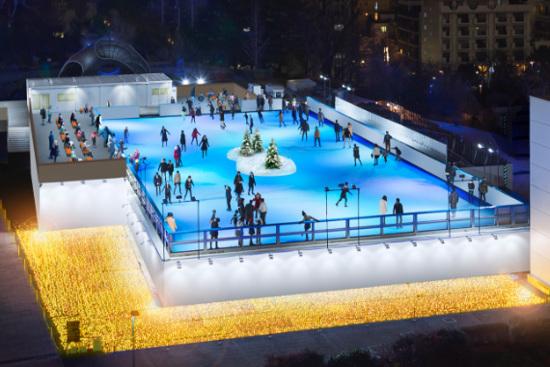 Tokyo Midtown Ice Skating Rink