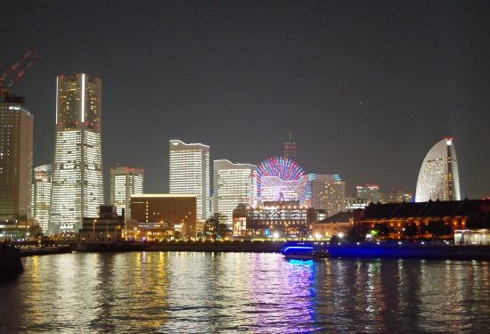 Towers Milight – Minato Mirai 21 All Office Buildings Light Up